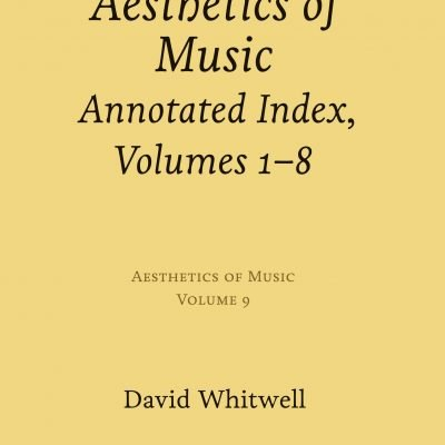 Aesthetics of Music, vol. 9
